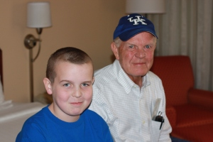 KR and Pappaw at Final Four