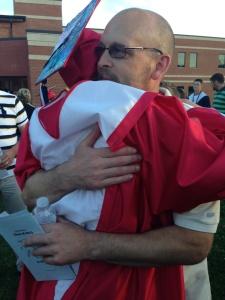 Dad and macy grad