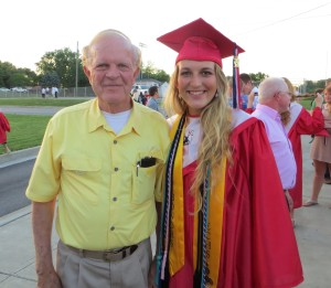 macy and pappaw grad